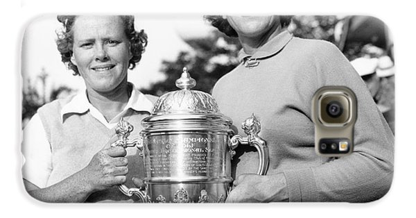 Golf Galaxy S6 Case - Patty Berg And Babe Didrikson by Underwood Archives