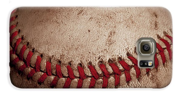 Galaxy S6 Case featuring the photograph Baseball Seams by David Patterson