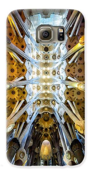 Basilica De La Sagrada Familia Galaxy S6 Case