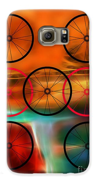 Bicycle Wheel Collection Galaxy S6 Case