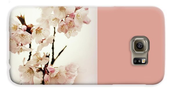 Galaxy S6 Case featuring the photograph Blushing Blossom by Jessica Jenney