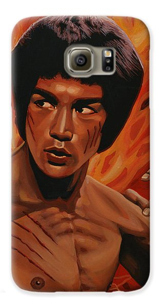 Bruce Lee Enter The Dragon Galaxy S6 Case by Paul Meijering