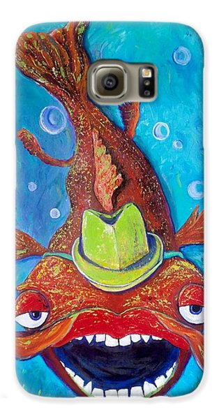 Catfish Clyde Galaxy S6 Case by Vickie Scarlett-Fisher