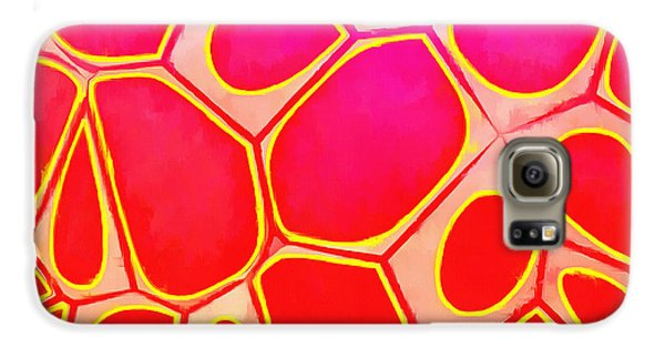 Design Galaxy S6 Case - Cells Abstract Three by Edward Fielding