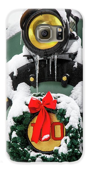 Christmas Train At Pacific Junction Galaxy S6 Case