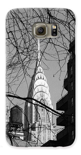 Chrysler Building And Tree Galaxy S6 Case