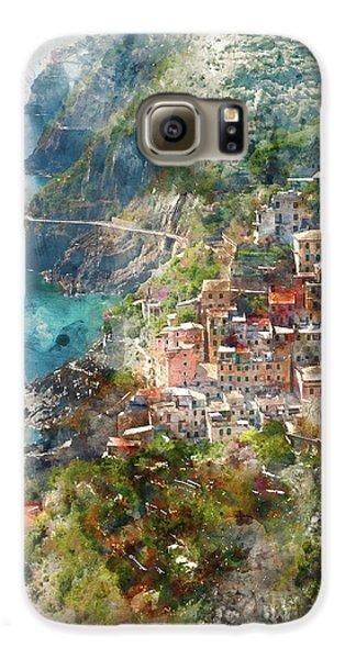 Cinque Terre In Italy Galaxy S6 Case