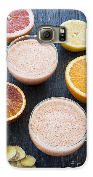Citrus Smoothies Galaxy S6 Case