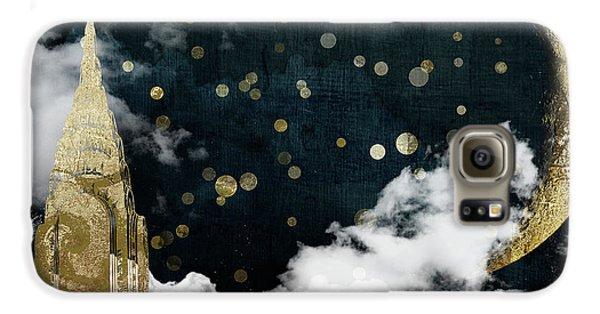 Cloud Cities New York Galaxy S6 Case