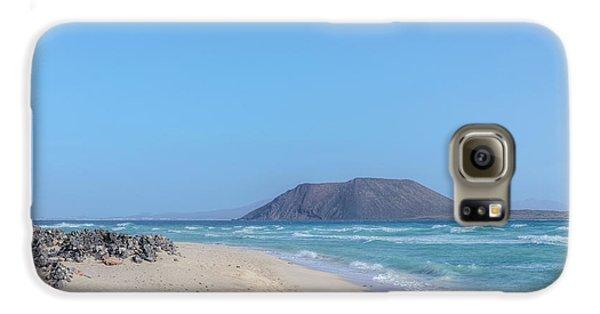 Corralejo - Fuerteventura Galaxy S6 Case by Joana Kruse
