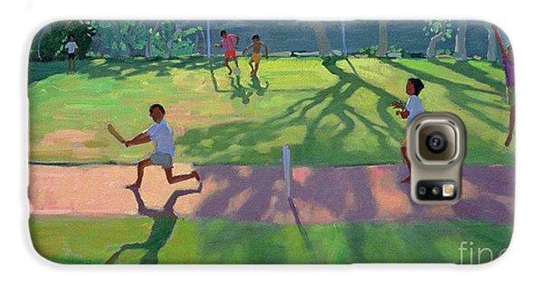 Cricket Sri Lanka Galaxy S6 Case by Andrew Macara