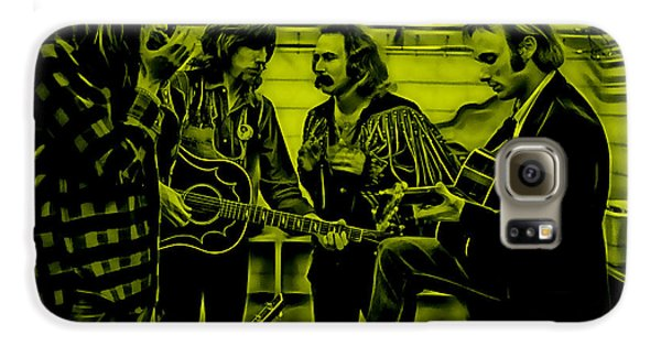 Crosby Stills Nash And Young Galaxy S6 Case by Marvin Blaine