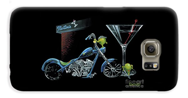 Martini Galaxy S6 Case - Custom Martini by Michael Godard