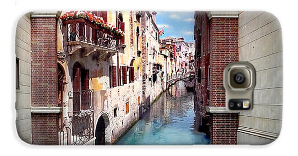Dreaming Of Venice Panorama Galaxy S6 Case