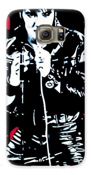 Elvis Galaxy S6 Case by Luis Ludzska