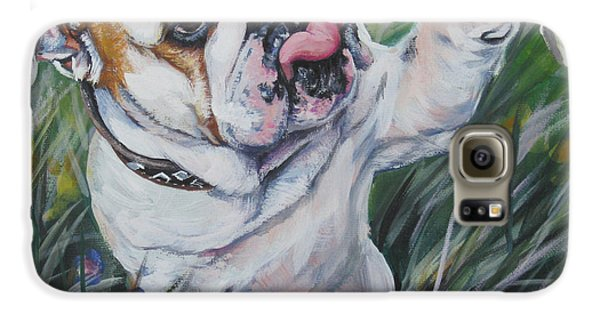 English Bulldog Galaxy S6 Case