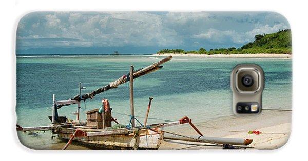 Fishing Boat Galaxy S6 Case