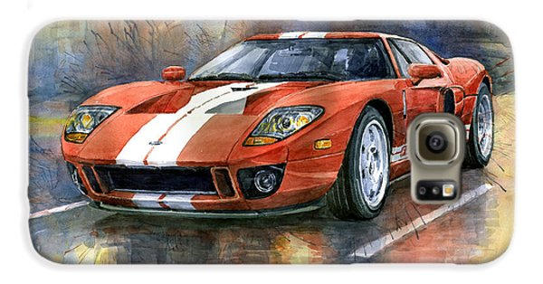Transportation Galaxy S6 Case - Ford Gt 40 2006  by Yuriy Shevchuk
