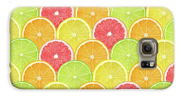 Fresh Fruit  Galaxy S6 Case by Mark Ashkenazi
