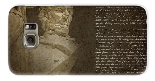 Gettysburg Address Galaxy S6 Case by Diane Diederich