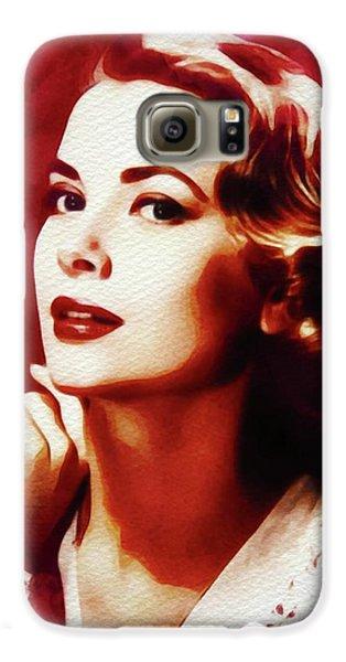 Grace Kelly Galaxy S6 Case - Grace Kelly, Hollywood Legend by John Springfield