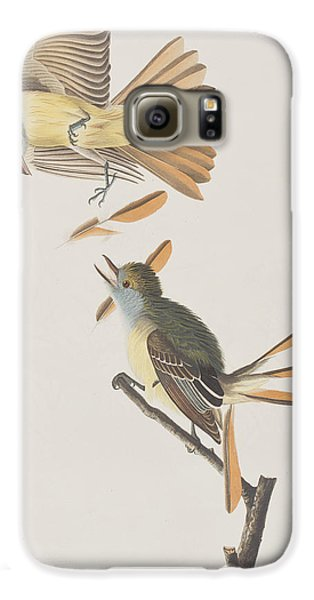 Great Crested Flycatcher Galaxy S6 Case