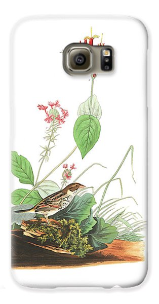 Henslow's Bunting  Galaxy S6 Case by John James Audubon