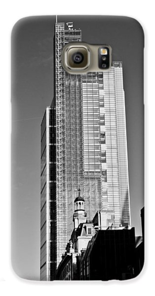 Heron Tower London Black And White Galaxy S6 Case