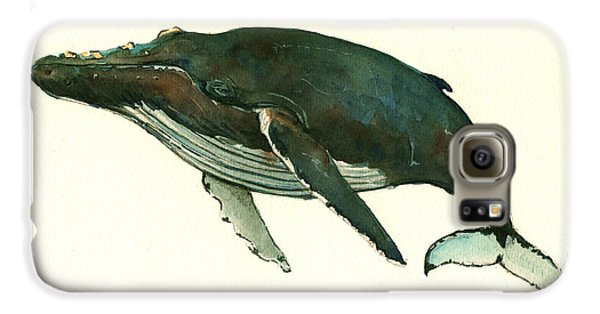 Humpback Whale  Galaxy S6 Case by Juan  Bosco