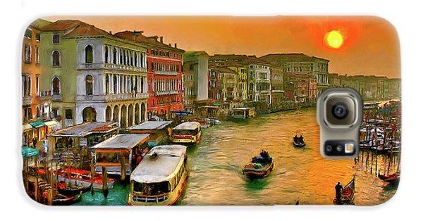Imbarcando. Venezia Galaxy S6 Case by Juan Carlos Ferro Duque