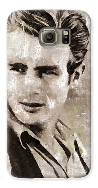 James Dean Hollywood Legend Galaxy S6 Case by Mary Bassett