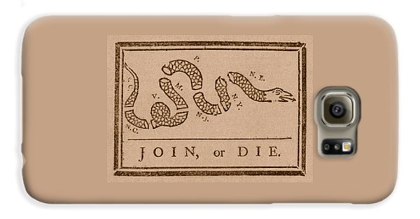 Reptiles Galaxy S6 Case - Join Or Die by War Is Hell Store