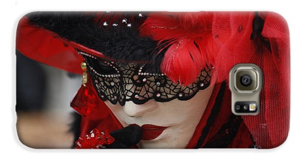 Lady In Red Galaxy S6 Case
