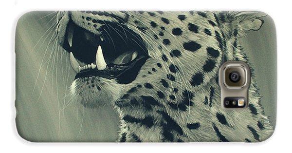 Leopard Portrait Galaxy S6 Case