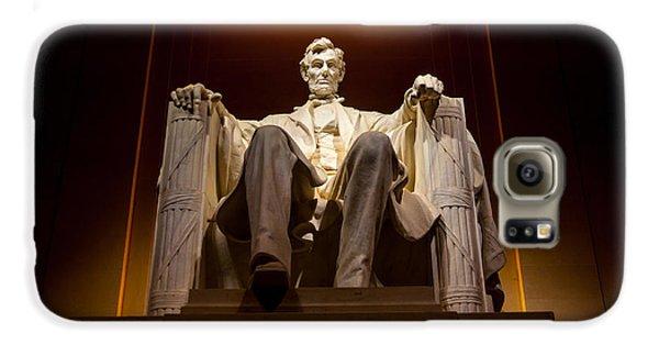 Lincoln Memorial Galaxy S6 Case - Lincoln Memorial At Night - Washington D.c. by Gary Whitton