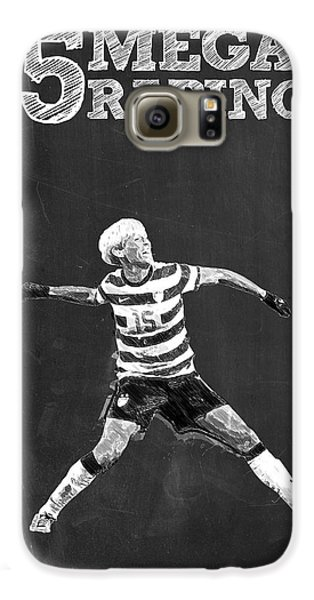 Megan Rapinoe Galaxy S6 Case by Semih Yurdabak