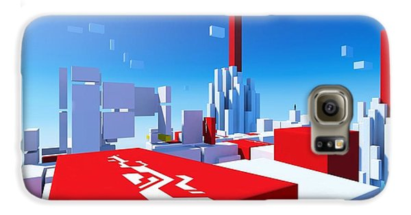Design Galaxy S6 Case - Mirror's Edge by Maye Loeser