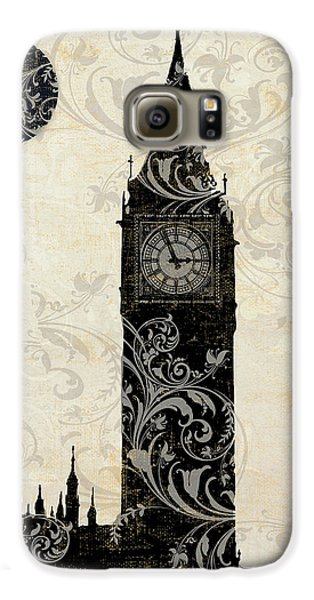 Moon Over London Galaxy S6 Case by Mindy Sommers
