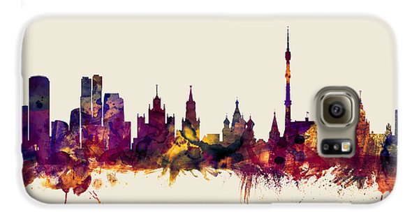 Moscow Russia Skyline Galaxy S6 Case
