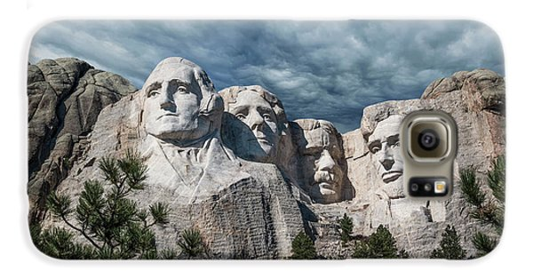 Mount Rushmore II Galaxy S6 Case by Tom Mc Nemar
