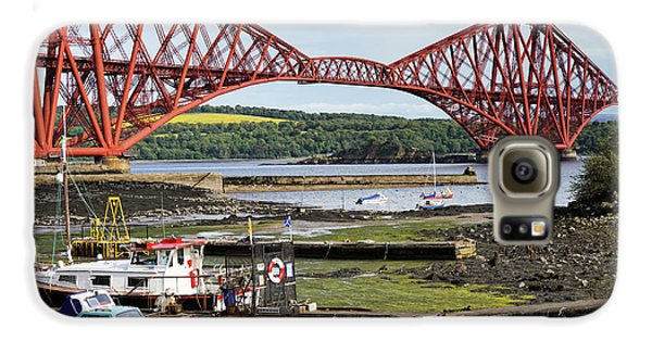 Galaxy S6 Case featuring the photograph North Queensferry by Jeremy Lavender Photography