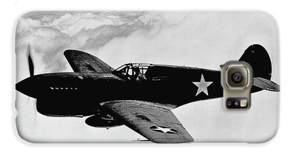 Airplane Galaxy S6 Case - P-40 Warhawk by War Is Hell Store