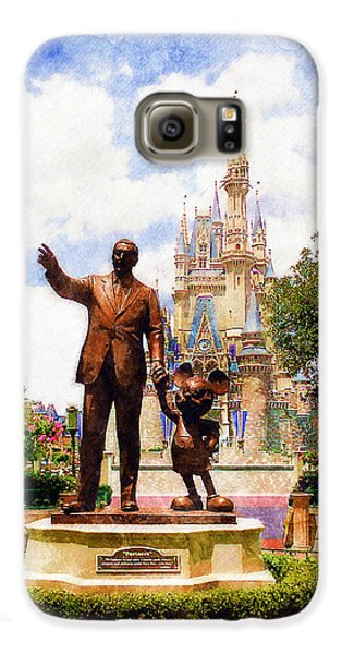 Magician Galaxy S6 Case - Partners by Sandy MacGowan