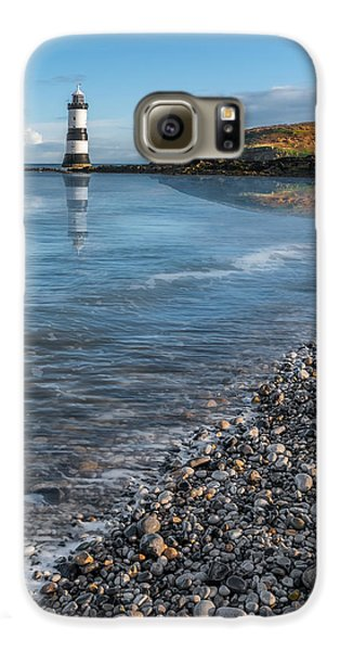 Puffin Galaxy S6 Case - Penmon Point Lighthouse by Adrian Evans