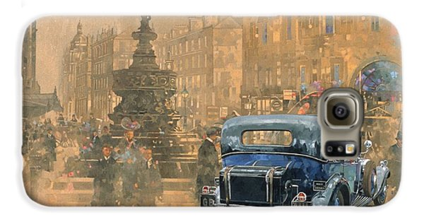 Phantom In Piccadilly  Galaxy S6 Case by Peter Miller