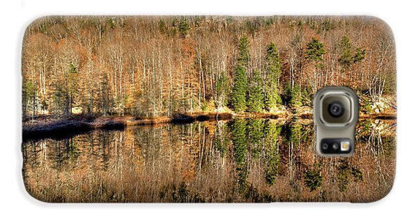 Galaxy S6 Case featuring the photograph Pond Reflections by David Patterson