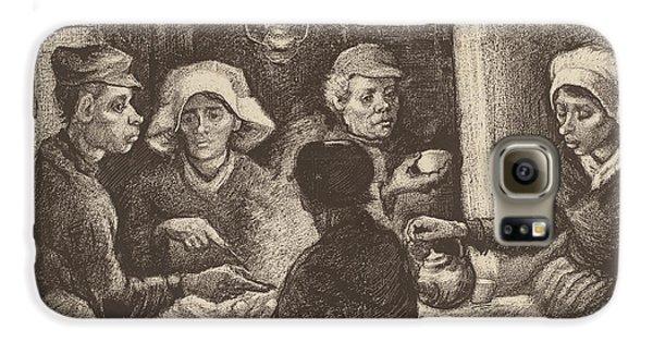 Potato Eaters, 1885 Galaxy S6 Case by Vincent Van Gogh