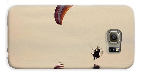 Galaxy S6 Case - Powered Paraglider by John Edwards