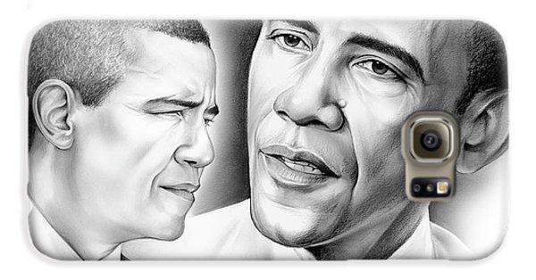 President Barack Obama Galaxy S6 Case by Greg Joens