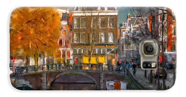 Prinsengracht 807. Amsterdam Galaxy S6 Case by Juan Carlos Ferro Duque